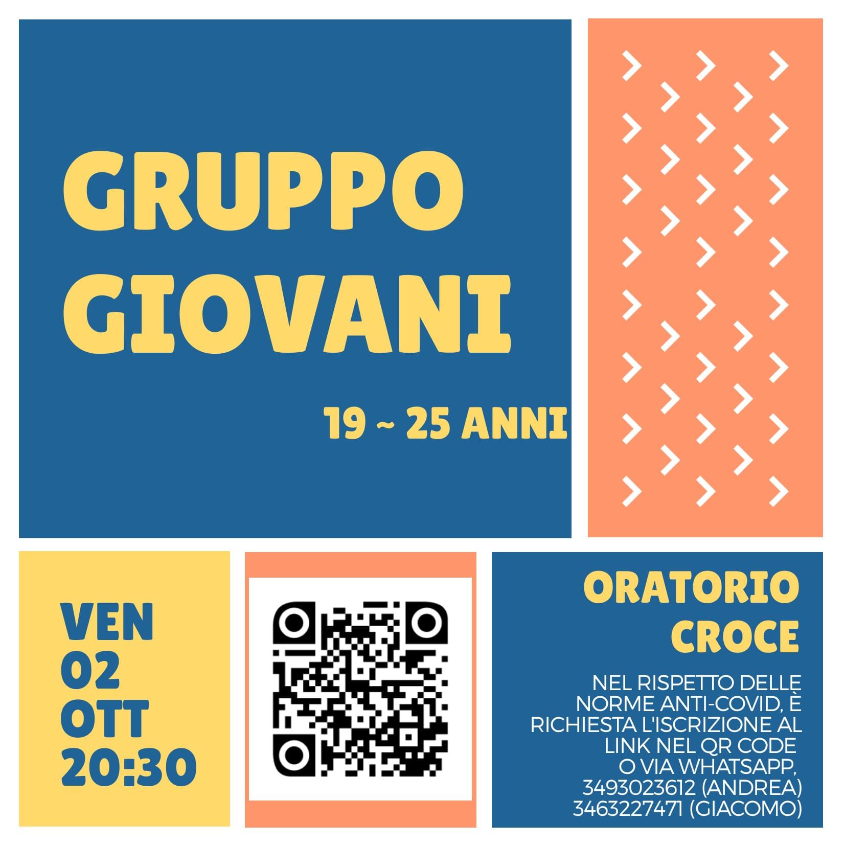 Gruppo Giovani junior 19-25